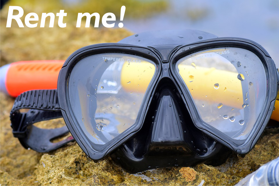 Snorkeling Mask with Tube